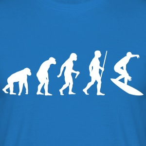 Surfer Evolution Tee shirts - T-shirt Homme
