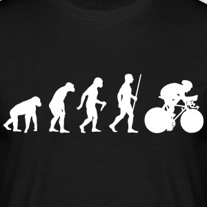 Cyclist Evolution - Männer T-Shirt