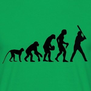 Evolution of Baseball T-Shirts - Männer T-Shirt