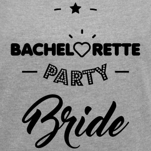 bride T-Shirts - Women's T-shirt with rolled up sleeves
