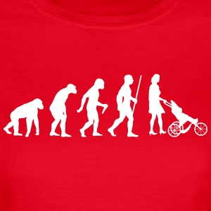 Mama Evolution - Frauen T-Shirt