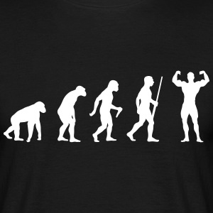Body Building Evolution Tee shirts - T-shirt Homme