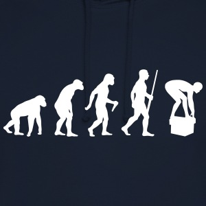 Swimming Evolution - Unisex Hoodie
