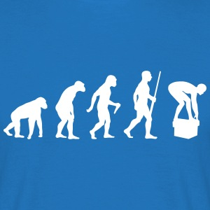 Swimming Evolution Tee shirts - T-shirt Homme