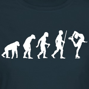 Ice Skating Evolution - Frauen T-Shirt