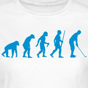 Golfer Evolution - Frauen T-Shirt