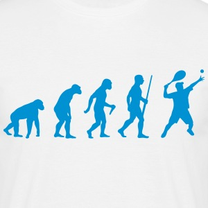 Tennis Evolution - Männer T-Shirt