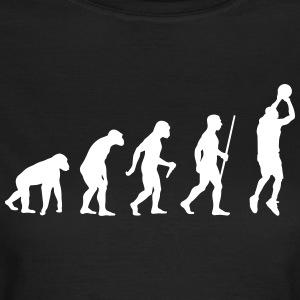 Basketballer Evolution - Frauen T-Shirt