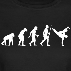 Breakdancer Evolution - Frauen T-Shirt