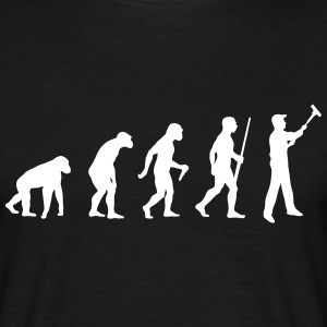 Painter Evolution - Männer T-Shirt