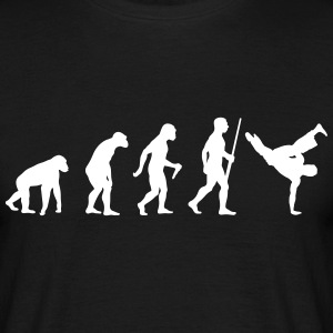 Breakdancer Evolution - Männer T-Shirt