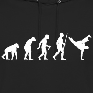 Breakdancer Evolution Sweat-shirts - Sweat-shirt à capuche unisexe