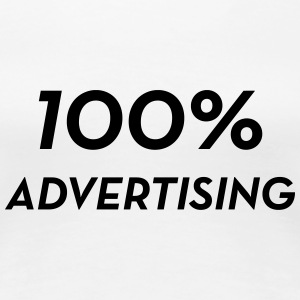 reklam / annons / Advertiser / Advertising T-shirts - Premium-T-shirt dam