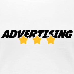 annoncering / annonce / Advertiser / Advertising T-shirts - Dame premium T-shirt