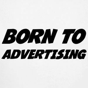 reclame / advertentie / Advertiser / Advertising Baby body - Baby bio-rompertje met lange mouwen