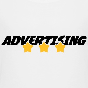 annoncering / annonce / Advertiser / Advertising T-shirts - Børne premium T-shirt