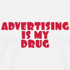 reklam / annons / Advertiser / Advertising T-shirts - Premium-T-shirt herr