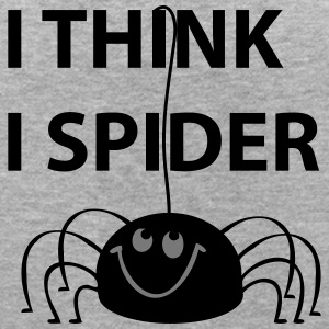 I think i spider - Frauen Oversize T-Shirt