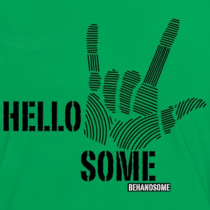 BEHANDSOME_2.png T-shirts - Vrouwen contrastshirt