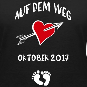On the way (October) 2017 T-Shirts - Women's V-Neck T-Shirt