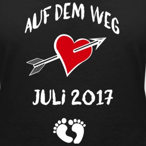 On the way (July 2017) T-Shirts - Women's V-Neck T-Shirt