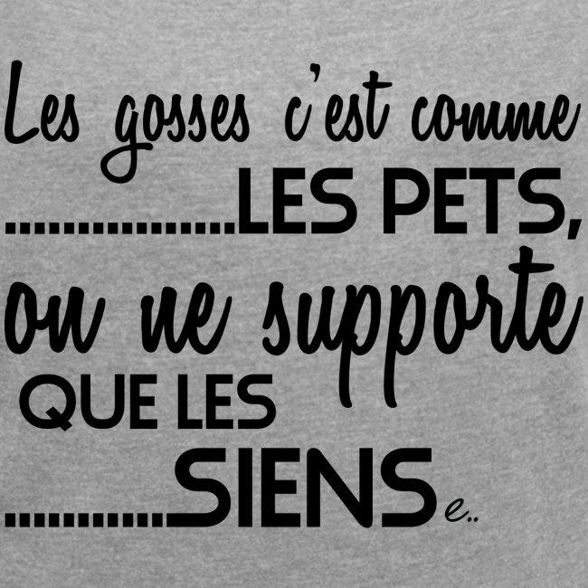 "T-shirt Femme ""Les Gosses"""