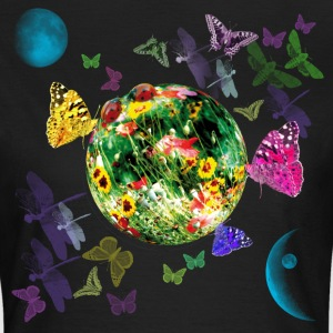 Little Fantasy World Butterflies Planet T-Shirt - Frauen T-Shirt