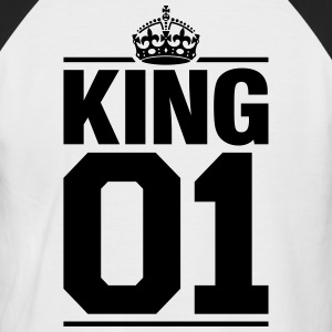 King 01 Tee shirts - T-shirt baseball manches courtes Homme