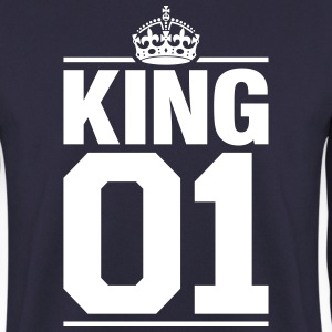 King 01 Sweat-shirts - Sweat-shirt Homme
