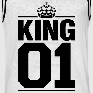 King 01 Vêtements de sport - Maillot de basket Homme