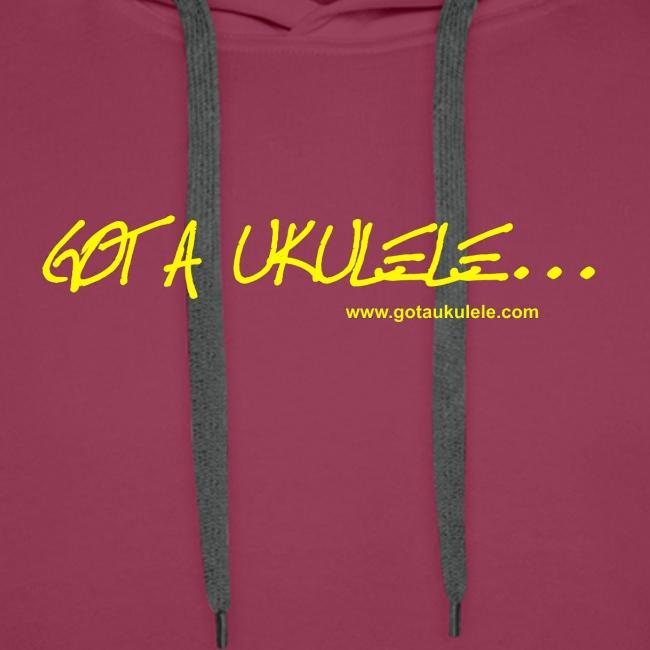 Got A Ukulele Mens hoodie