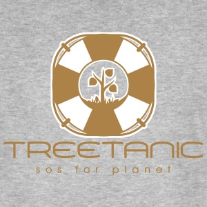 Treetanic - sos for planet - Männer Bio-T-Shirt