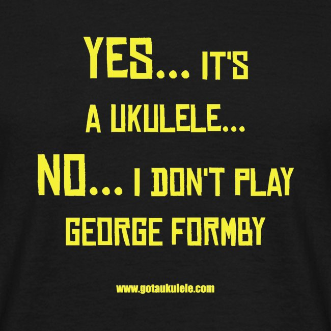 Got A Ukulele Formby Shirt