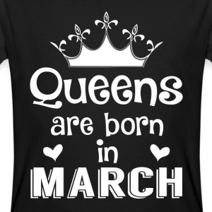 March - Queen - Birthday - 1 T-shirts - Ekologisk T-shirt herr