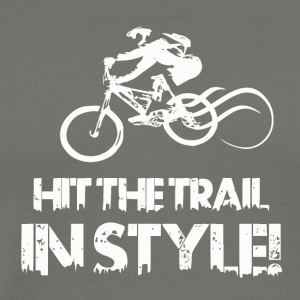 Hit the Trail in Style! Mountainbike Love - Männer Premium T-Shirt