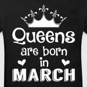 March - Queen - Birthday - 1 Shirts - Kids' Organic T-shirt