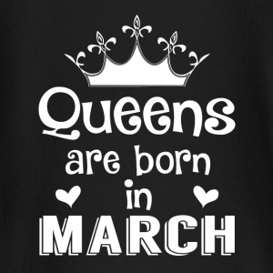 March - Queen - Birthday - 1 Baby Langarmshirts - Baby Langarmshirt
