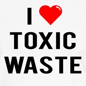 I Love Toxic Waste (Real Genius) - T-Shirt - Men's Ringer Shirt