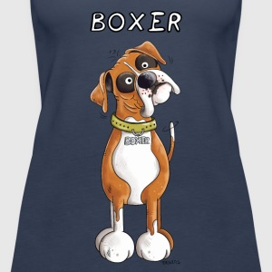 German Boxer Tops - Women's Premium Tank Top