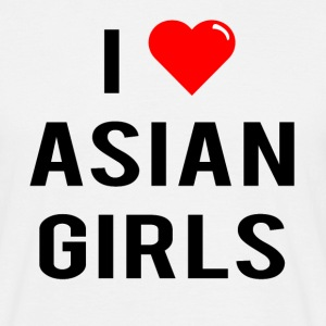 I Love Asian Girls - T-Shirt - Men's T-Shirt