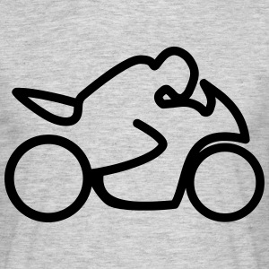 Motorcycle Moto Bike T-Shirts - Men's T-Shirt