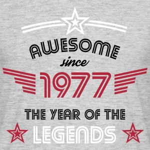 Awesome since 1977 - Männer T-Shirt