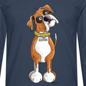 Funny German Boxer Long sleeve shirts - Men's Premium Longsleeve Shirt