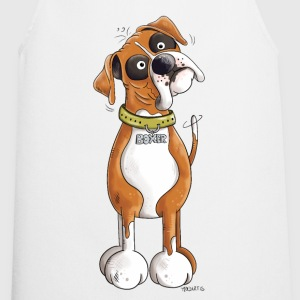 Funny German Boxer  Aprons - Cooking Apron