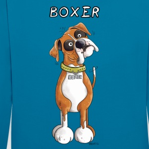 German Boxer Sweat-shirts - Sweat-shirt contraste