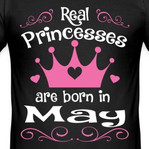 May - Princess - Birthday - 1 T-Shirts - Men's Slim Fit T-Shirt