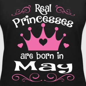 May - Princess - Birthday - 1 T-Shirts - Frauen T-Shirt mit V-Ausschnitt