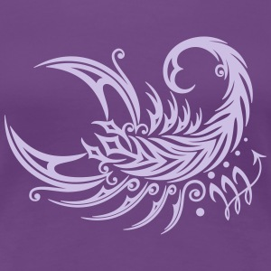 Großer Skorpion im Tribal & Tattoo Style T-Shirts - Frauen Premium T-Shirt