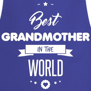 BEST GRANDMOTHER Delantales - Delantal de cocina