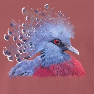 crowned pigeon T-Shirts - Men's Premium T-Shirt